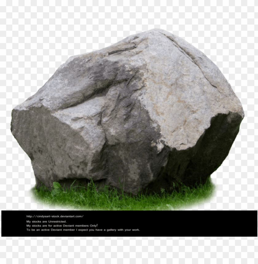 free PNG stone stock 1 by cindysart stock by cindysart stock - rock psd PNG image with transparent background PNG images transparent