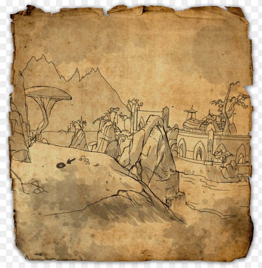 free PNG stonefalls treasure map ii - eso stonefalls map 4 PNG image with transparent background PNG images transparent