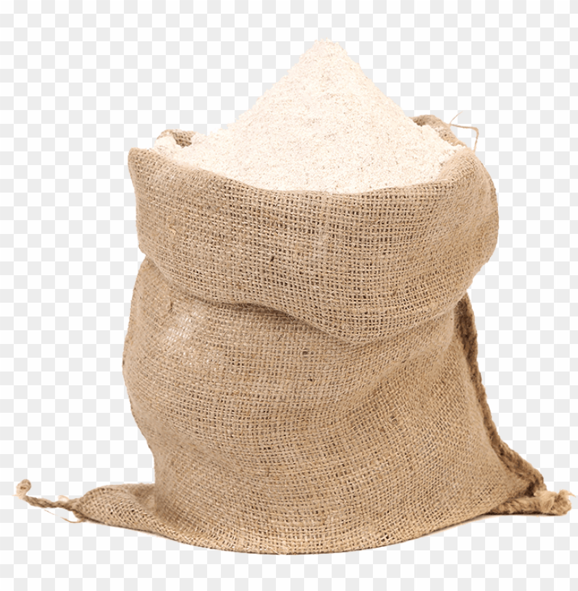 free PNG stoneground wholemeal plain flour - bag of flour PNG image with transparent background PNG images transparent