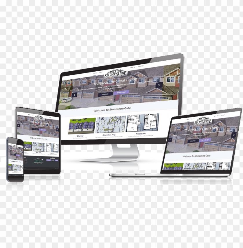free PNG stoneshire gate responsive website design - website template PNG image with transparent background PNG images transparent