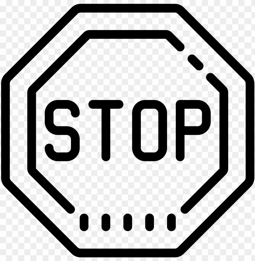 free PNG stop sign icon - stop sign shape PNG image with transparent background PNG images transparent