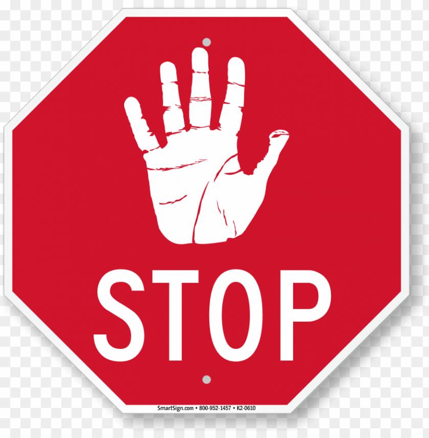 free PNG stop sign transparent image - hand stop sign PNG image with transparent background PNG images transparent