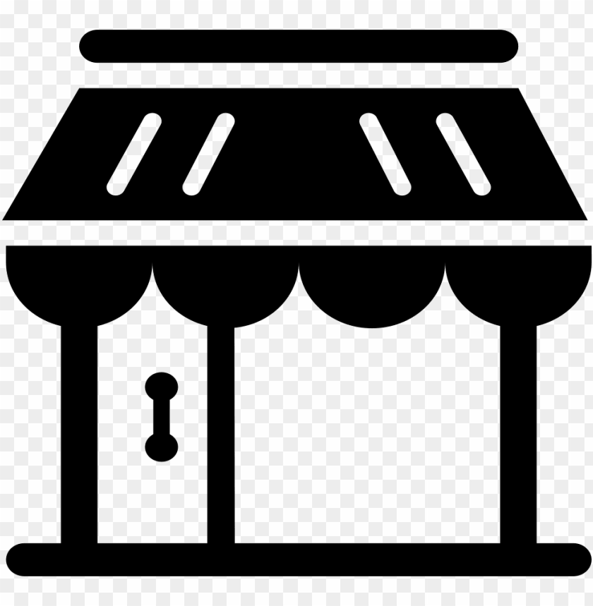 store icon - - store icon png black PNG image with transparent background@toppng.com