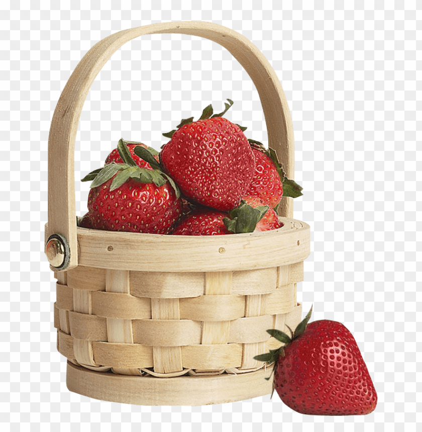 free PNG Download strawberry in basket png images background PNG images transparent
