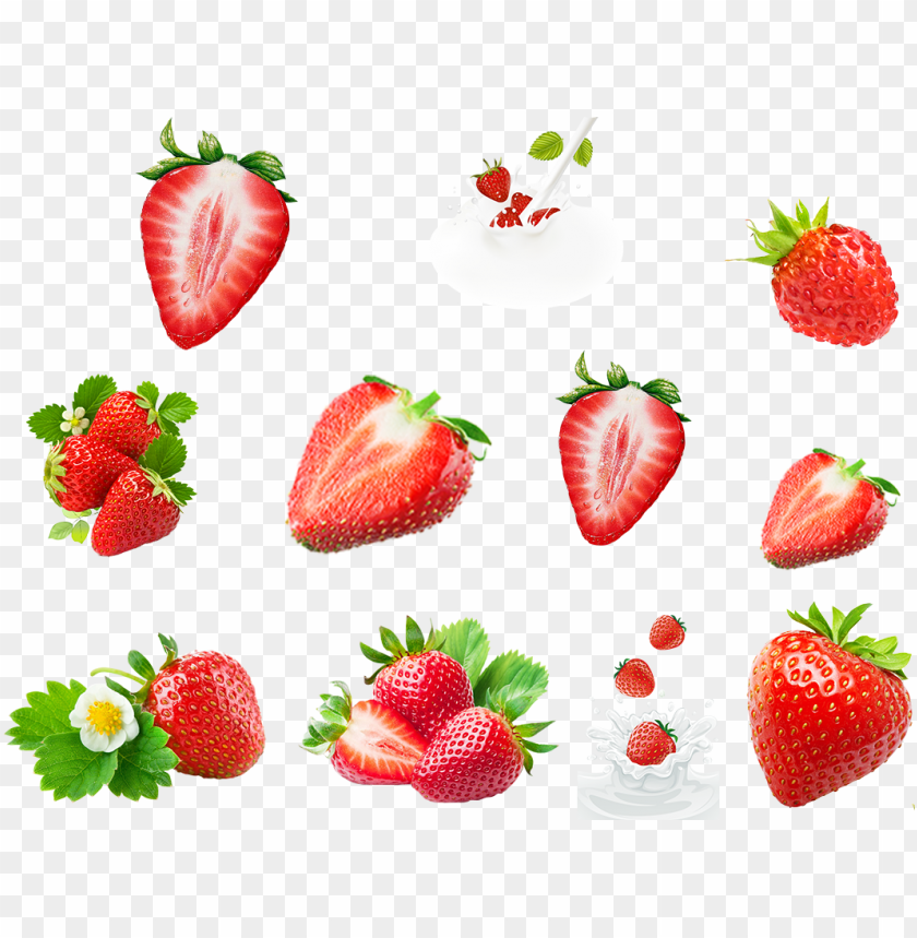 free PNG strawberry png, strawberry clipart, fruit vector, fresh - strawberry PNG image with transparent background PNG images transparent
