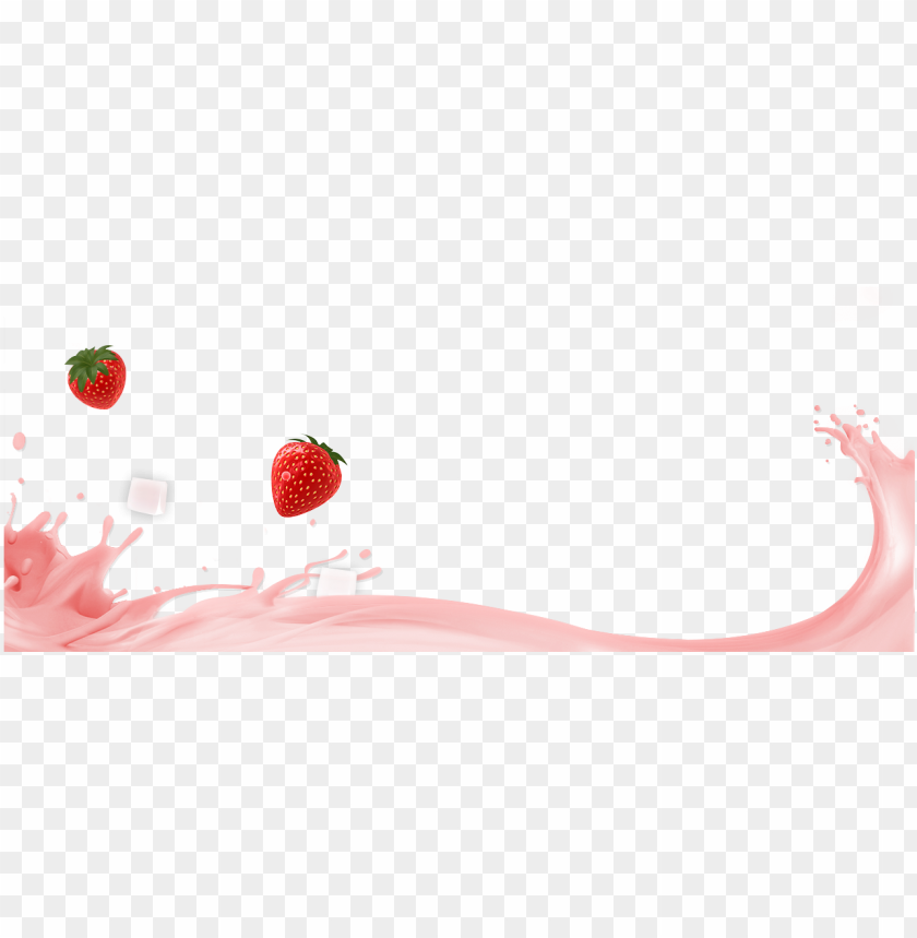 free PNG strawberry yogurt png - strawberry smoothie yogurt PNG image with transparent background PNG images transparent