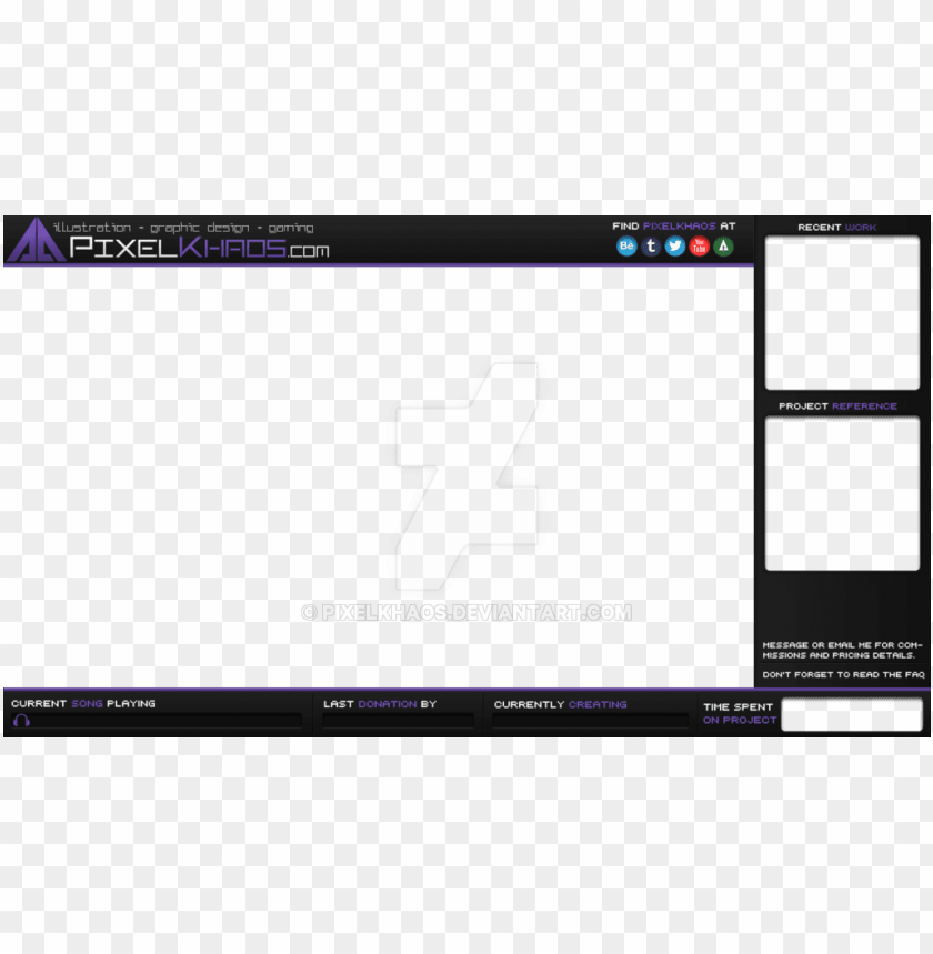 Stream Pixel Overlay PNG Image With Transparent Background