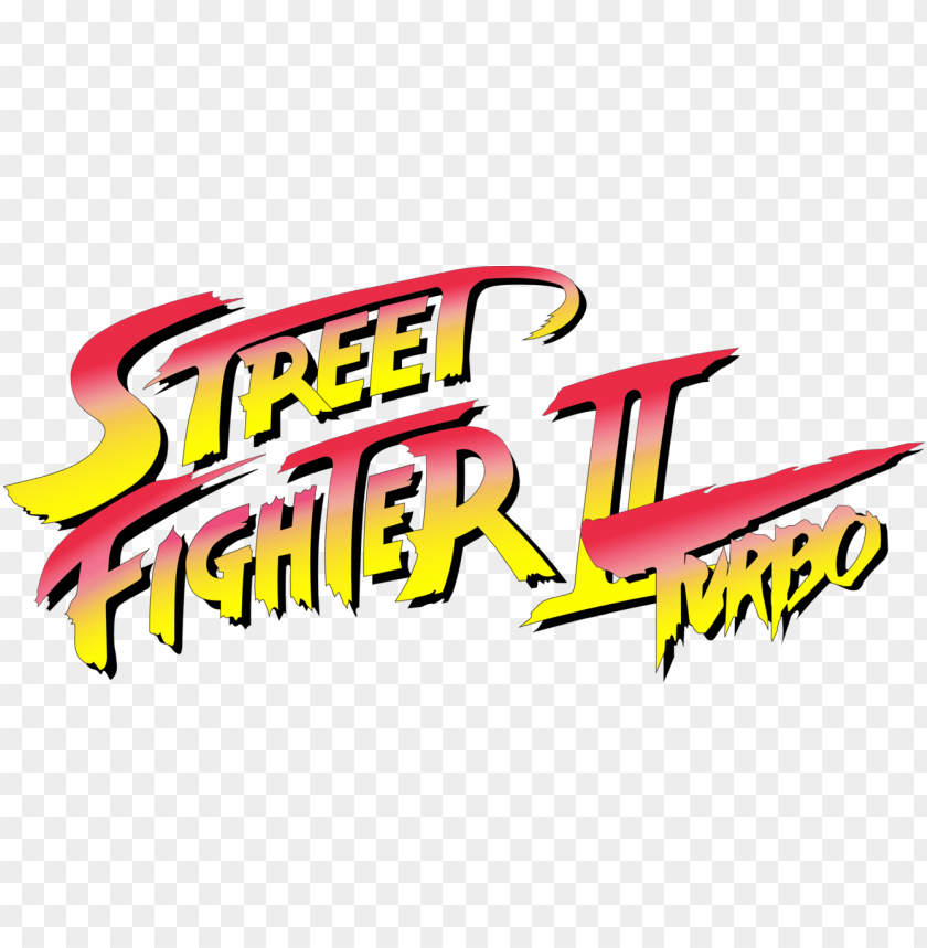 Street Fighter Ii Turbo Logo Snes Version Street Fighter Ii Turbo Hyper Fighting Logo Png Image With Transparent Background Toppng