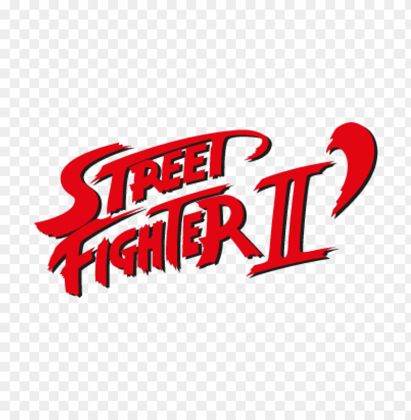 Street Fighter Ii Vector Logo Free Download Toppng