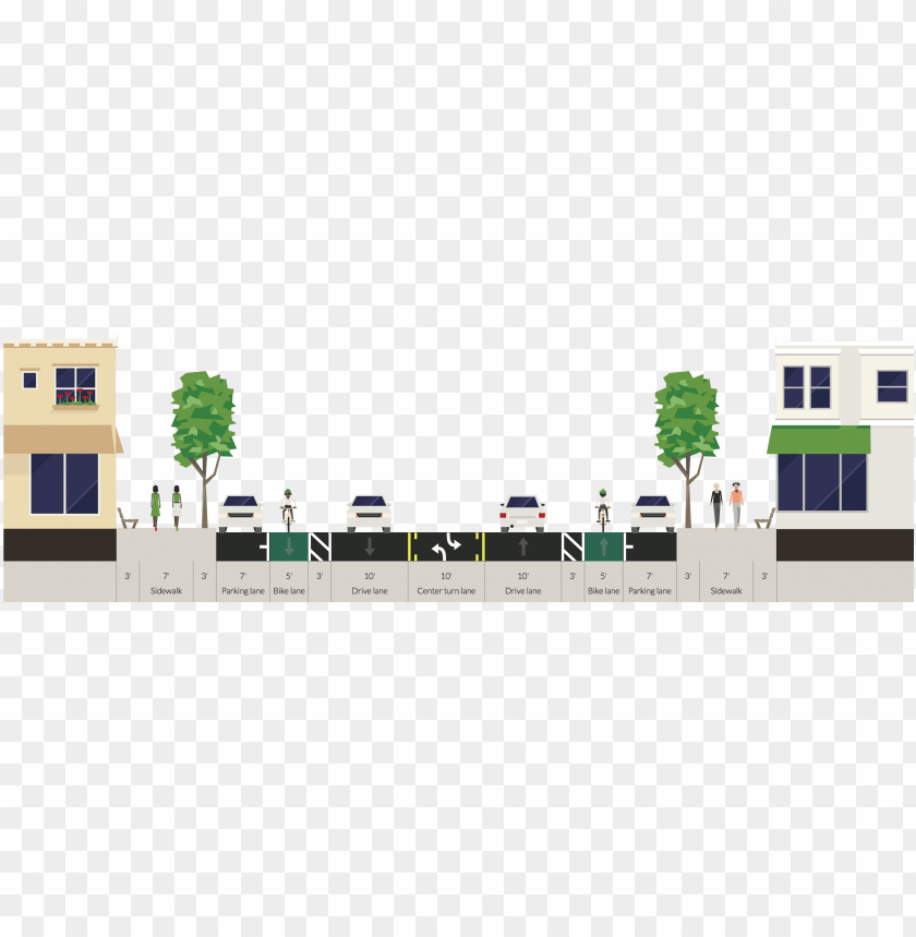 free PNG street section bike PNG image with transparent background PNG images transparent