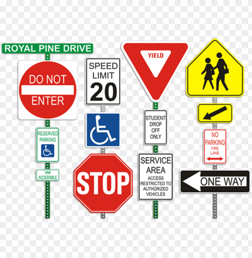 free PNG street signs road signs - traffic signposts PNG image with transparent background PNG images transparent