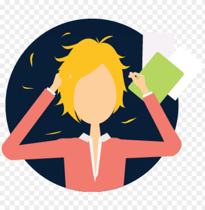 Stress On Professionals Work Stress Icon Png Image With Transparent Background Toppng