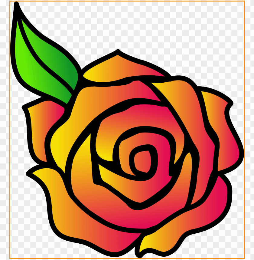free PNG stunning rose flower clip art beauty and the beast - simple rose clipart PNG image with transparent background PNG images transparent