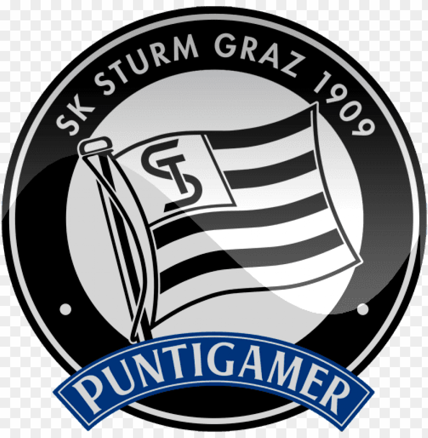 Sturm Graz Football Logo Png Png Free Png Images Toppng