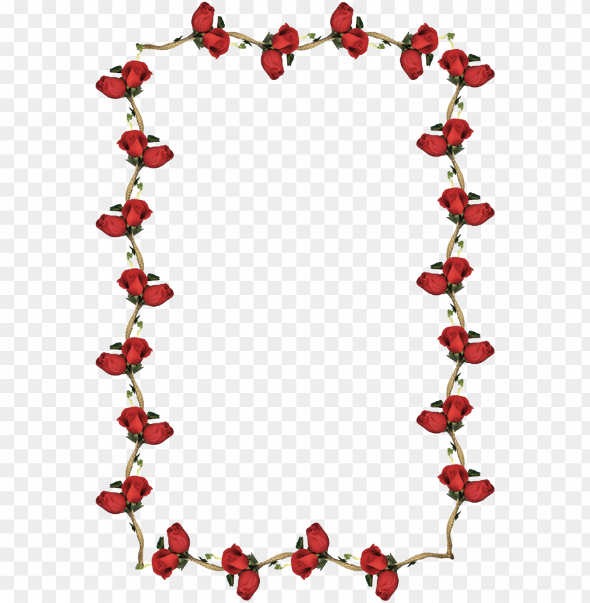 free PNG stylish red rose border picture frame - transparent border frames PNG image with transparent background PNG images transparent