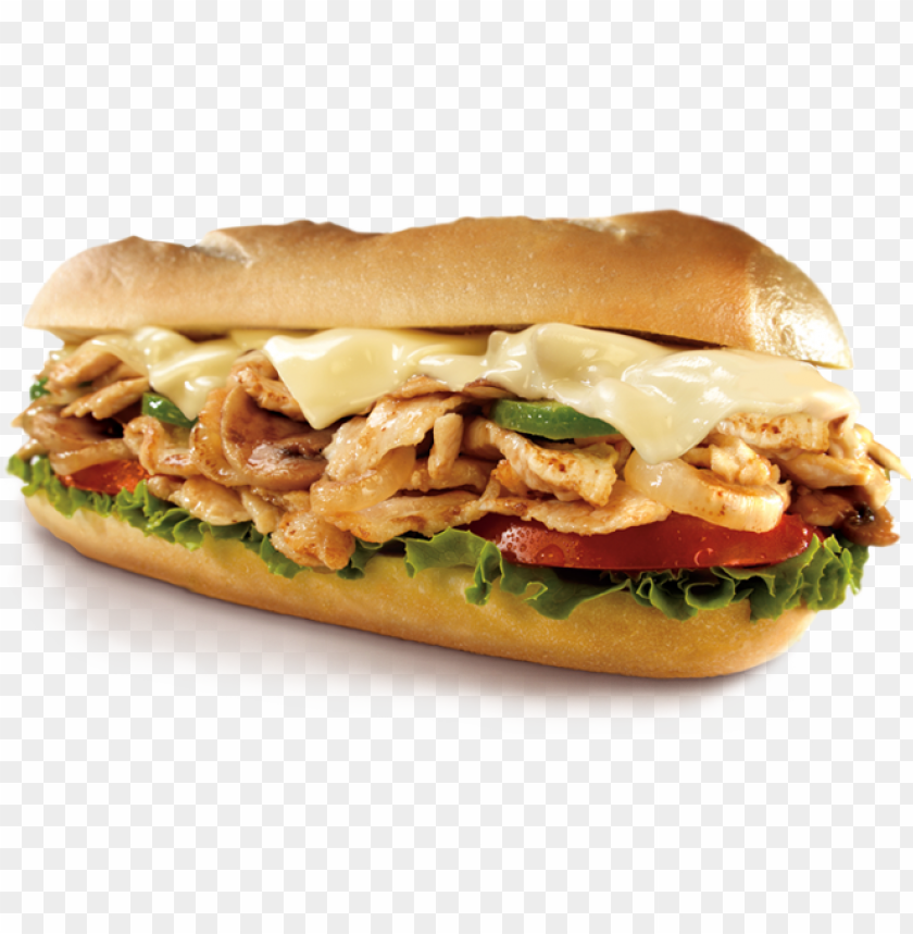 free PNG submarine sandwich png - grilled chicken sandwich PNG image with transparent background PNG images transparent