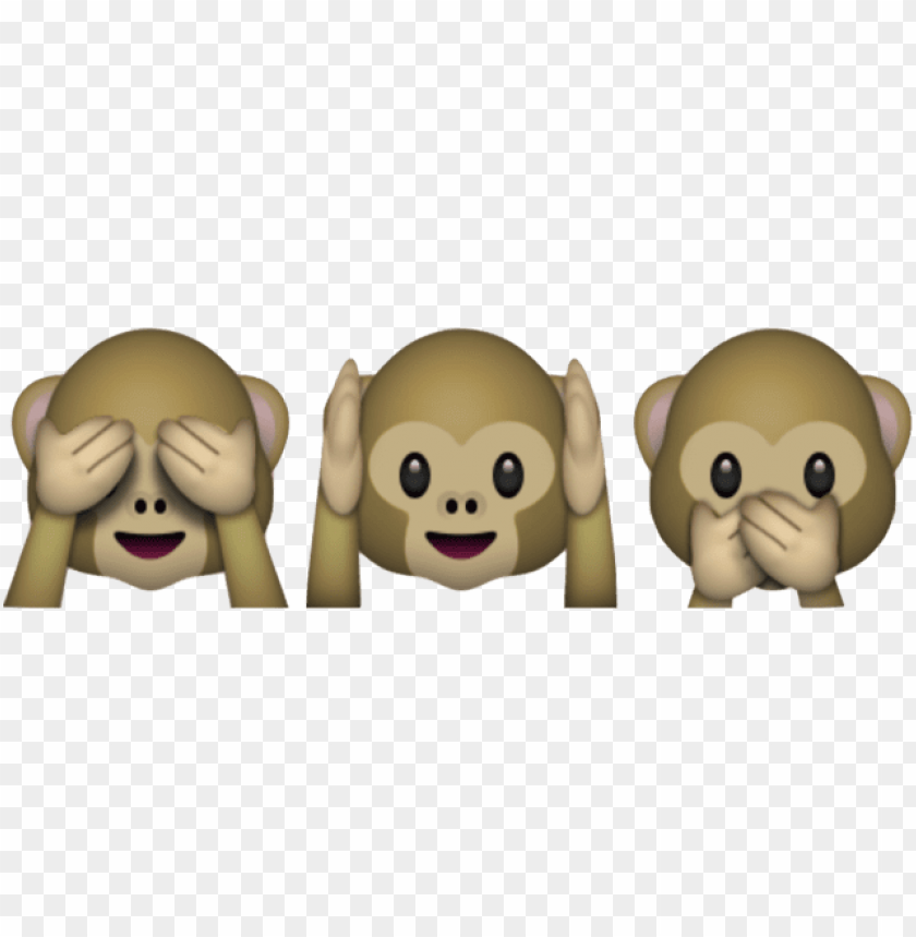 free PNG such sweet emoji - monkey emojis see no evil PNG image with transparent background PNG images transparent