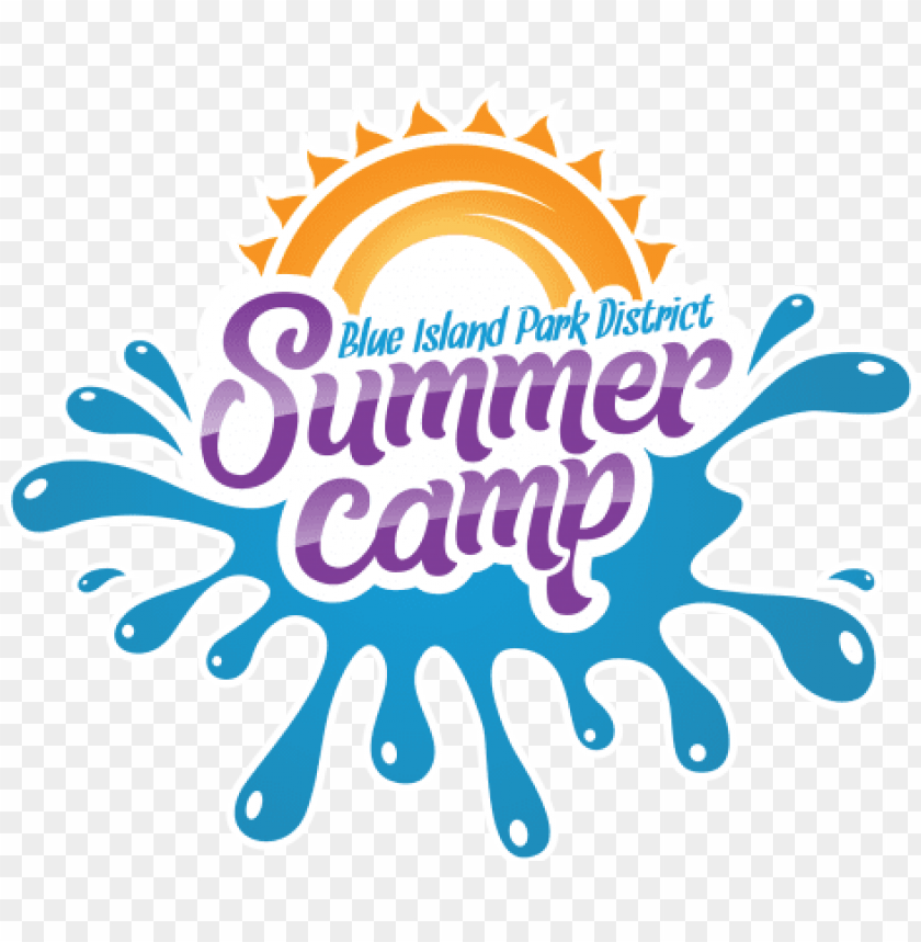 free PNG summer camp logo 2018 with accents - summer camp logo PNG image with transparent background PNG images transparent