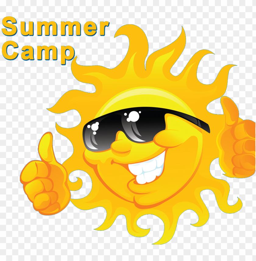 free PNG summer camp logo sun PNG image with transparent background PNG images transparent