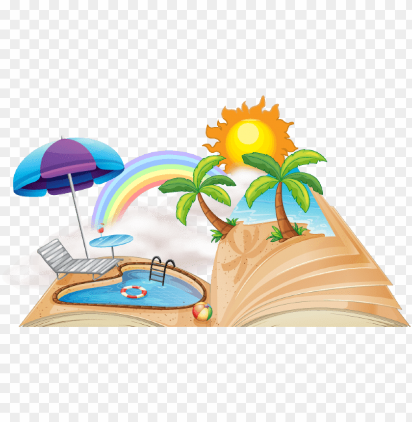free PNG summer vacation homework cover page PNG image with transparent background PNG images transparent