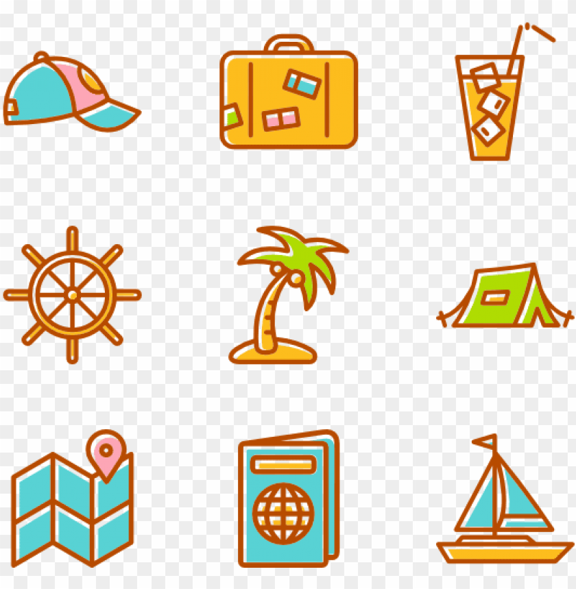 summertime elements summer icon vector png image with transparent background toppng summer icon vector png image with