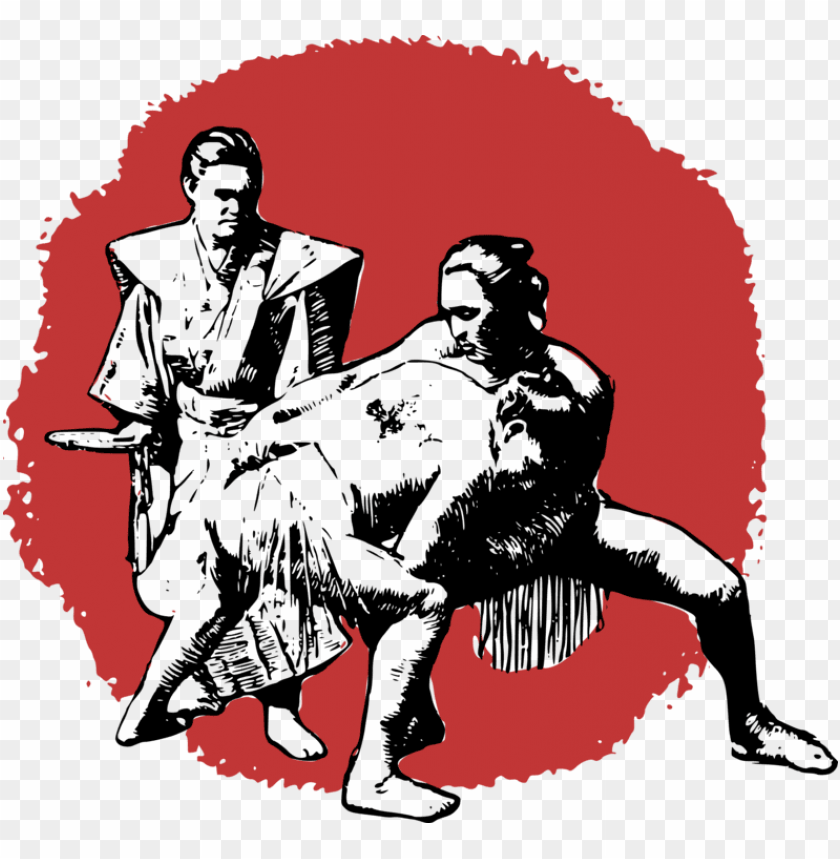 free PNG sumo professional wrestling drawing martial arts - sumo wrestling shower curtai PNG image with transparent background PNG images transparent