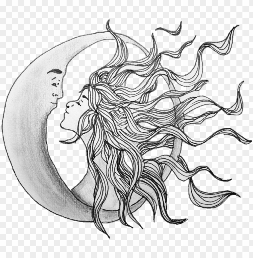 free PNG sun and moon illustrations PNG image with transparent background PNG images transparent