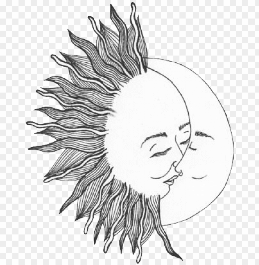 free PNG sun and moon png tumblr - sun and moon transparent PNG image with transparent background PNG images transparent