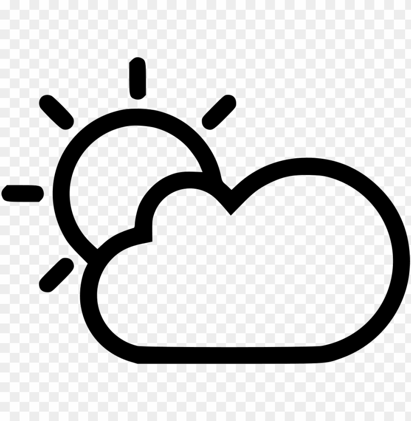 free PNG sun cloud svg png icon free download - sun cloud PNG image with transparent background PNG images transparent