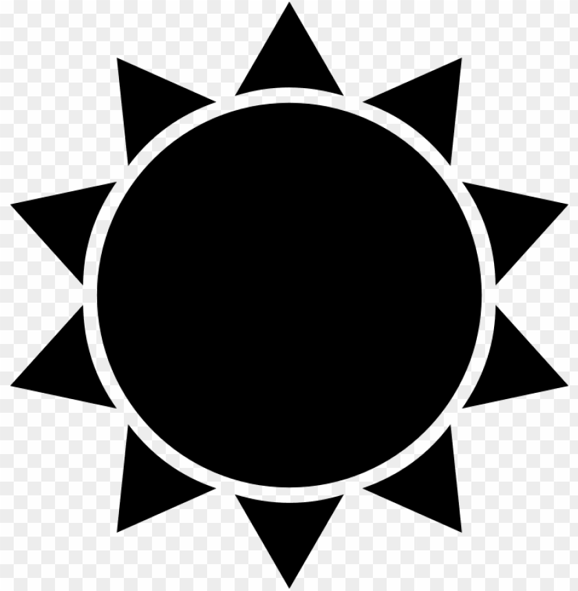 free PNG sun silhouette clip art at getdrawings - sun icon PNG image with transparent background PNG images transparent