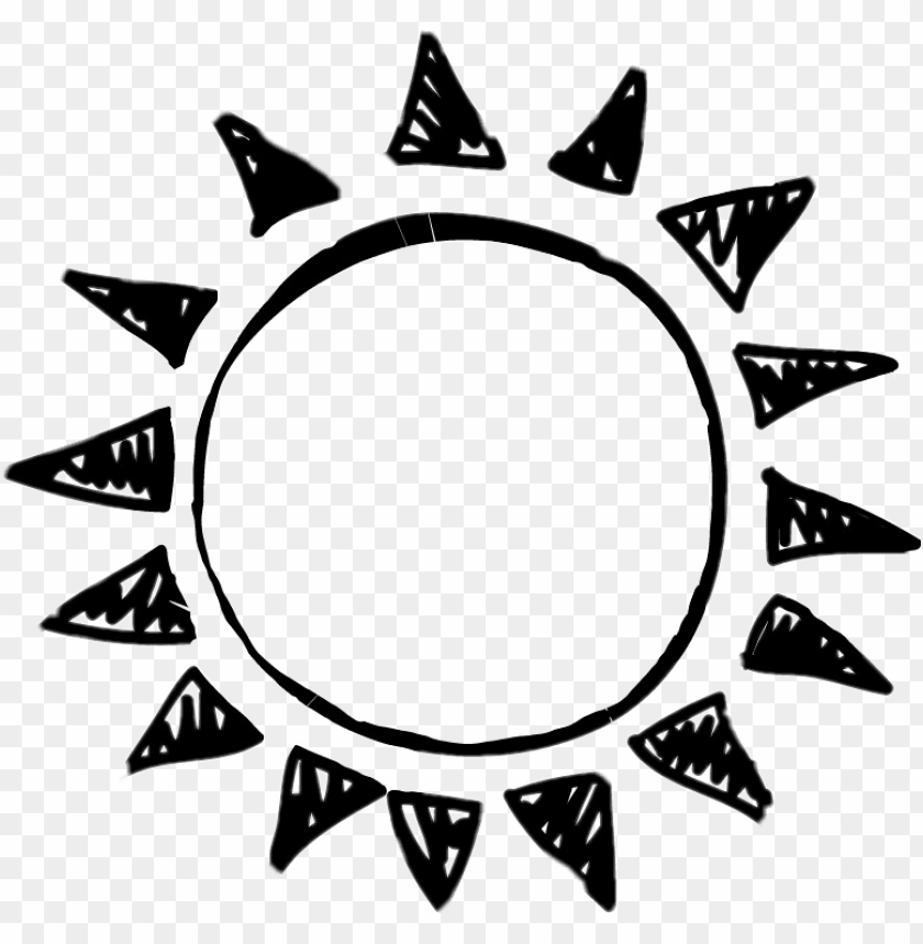 free PNG sun tumblr sunemoji emoji draw tumblrdraw sundraw black - sun and moon couple PNG image with transparent background PNG images transparent