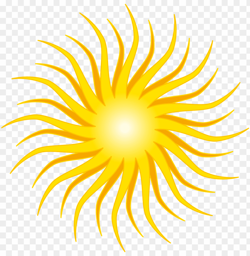 free PNG sun yellow round orange rays png image - rayons de soleil blanc jaune PNG image with transparent background PNG images transparent