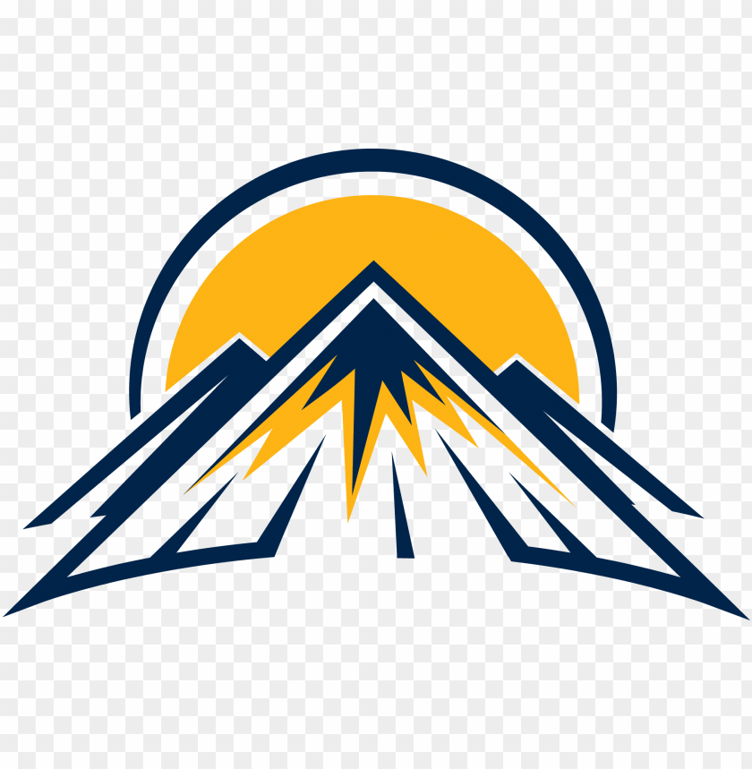 free PNG sundown mountain logo - mountain logo PNG image with transparent background PNG images transparent