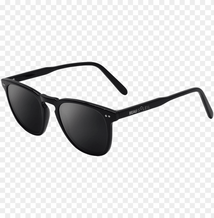 free PNG sunglasses anti uv basel black beausoleil - sunglasses PNG image with transparent background PNG images transparent