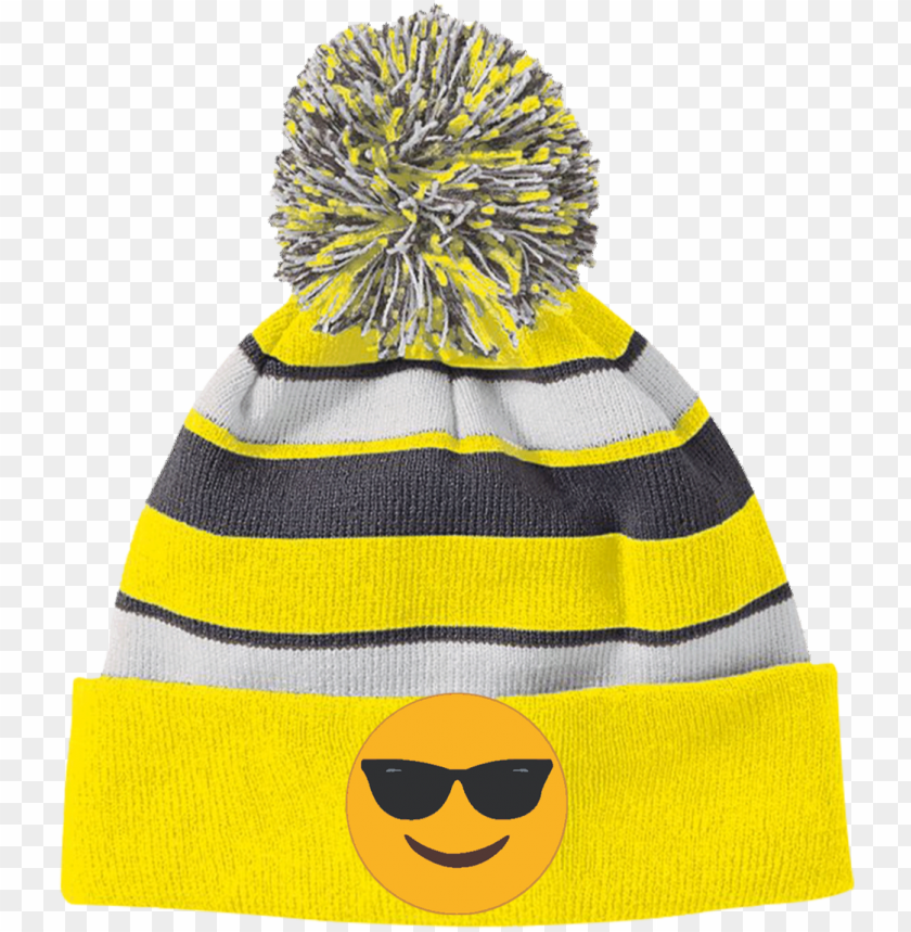 free PNG sunglasses emoji 223835 holloway striped beanie with PNG image with transparent background PNG images transparent