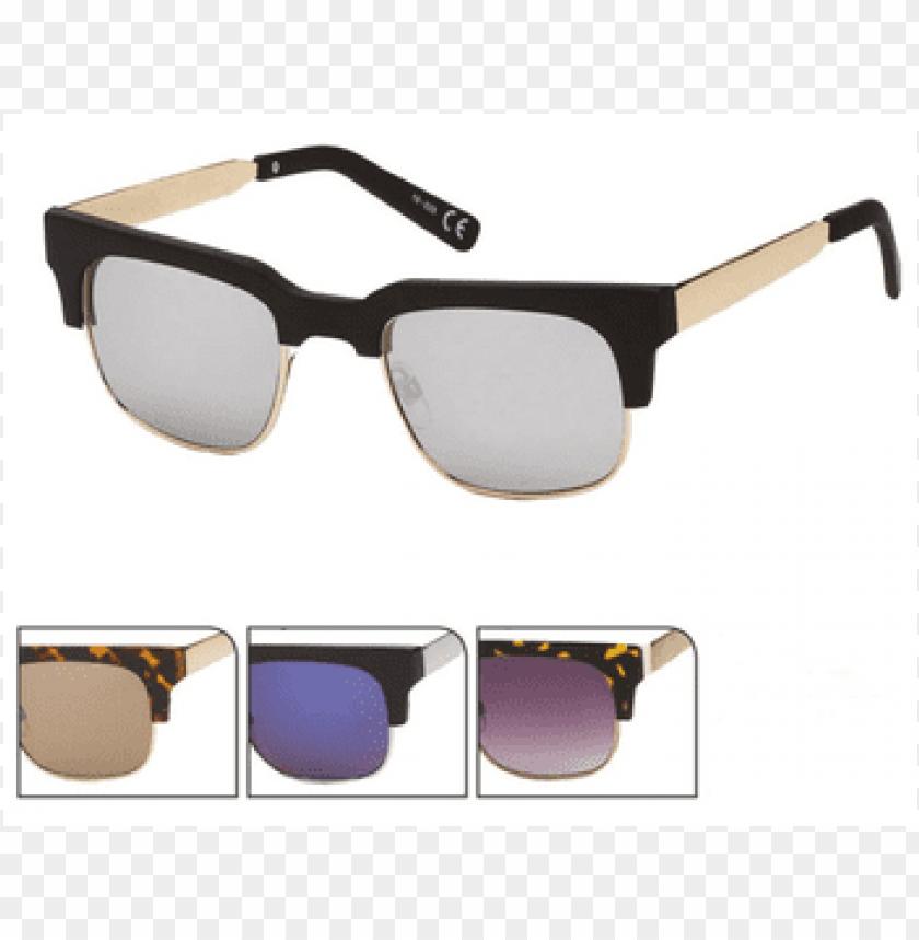 free PNG sunglasses metal bracket - sonnenbrille metall bügel rahmen eckiges cat eye 400 PNG image with transparent background PNG images transparent