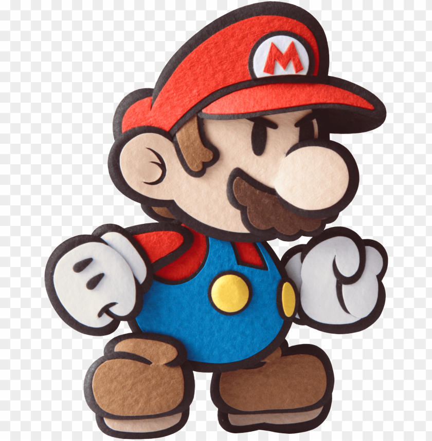 free PNG super mario clipart fist - paper mario sticker star mario PNG image with transparent background PNG images transparent
