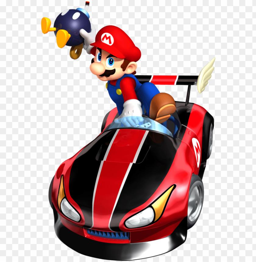 Super Mario Kart Png Photo Mario Kart Wii Mario Png Image