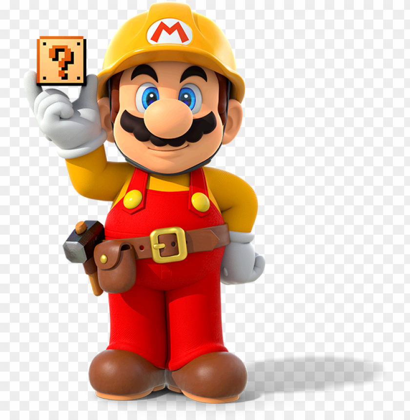 free PNG super mario maker is the next mario bros series release, - super mario maker mario PNG image with transparent background PNG images transparent