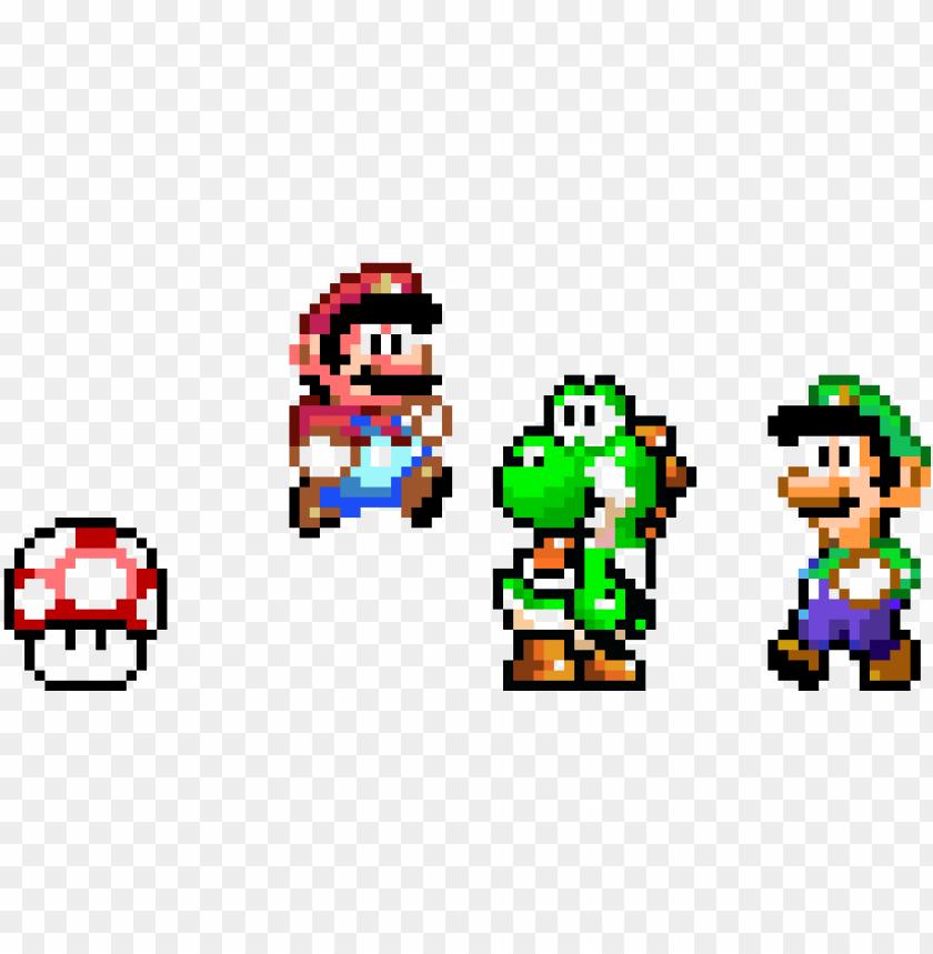 Super Mario World Pixel Mania Pixel Mushroom Tote Ba Png