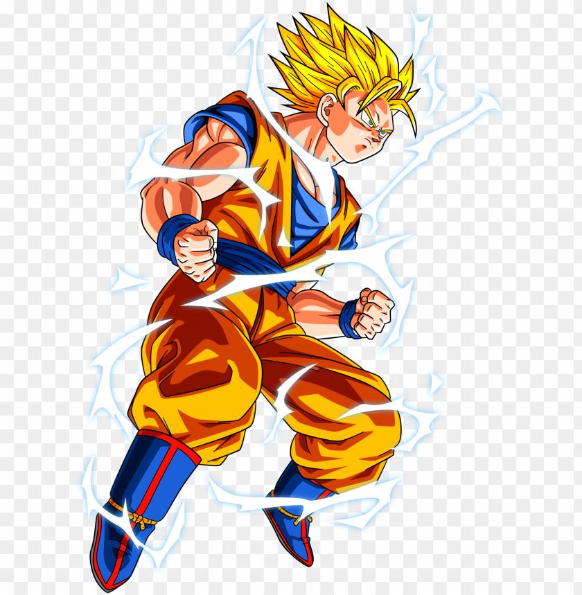 Super Saiyan 2 Goku Png Goku Super Saiyan 2 Png Image With