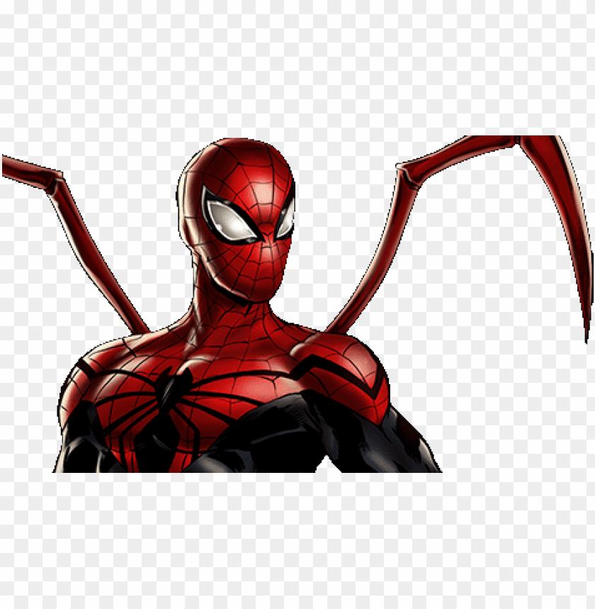 free PNG superior spider-man dialogue 1 - spider man marvel avengers alliance PNG image with transparent background PNG images transparent