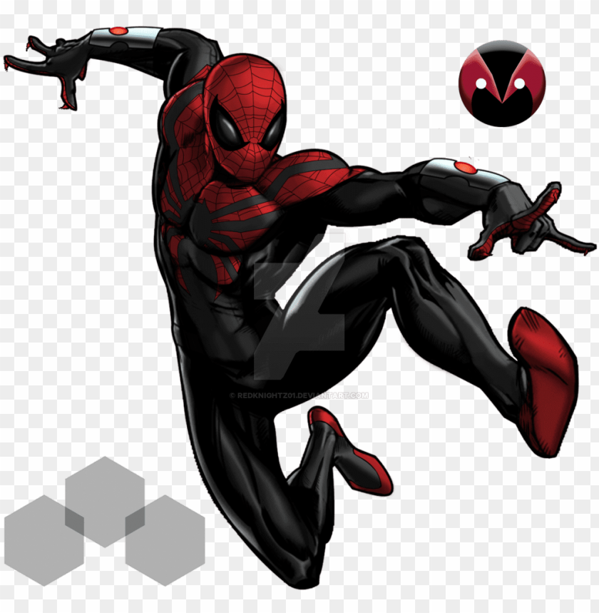 free PNG superior spiderman 3 marvel avenger alliance by redknightz01-d7sal2b - spiderman 2099 PNG image with transparent background PNG images transparent