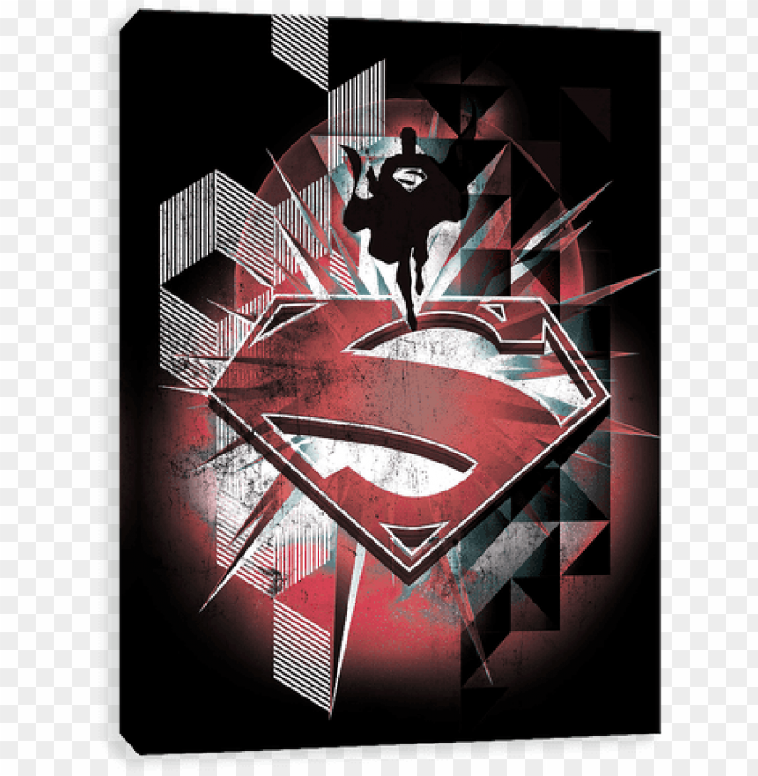 Superman Logo Burst Superman Iphone 7 Case Red Superman Pattern Skinit Png Image With Transparent Background Toppng