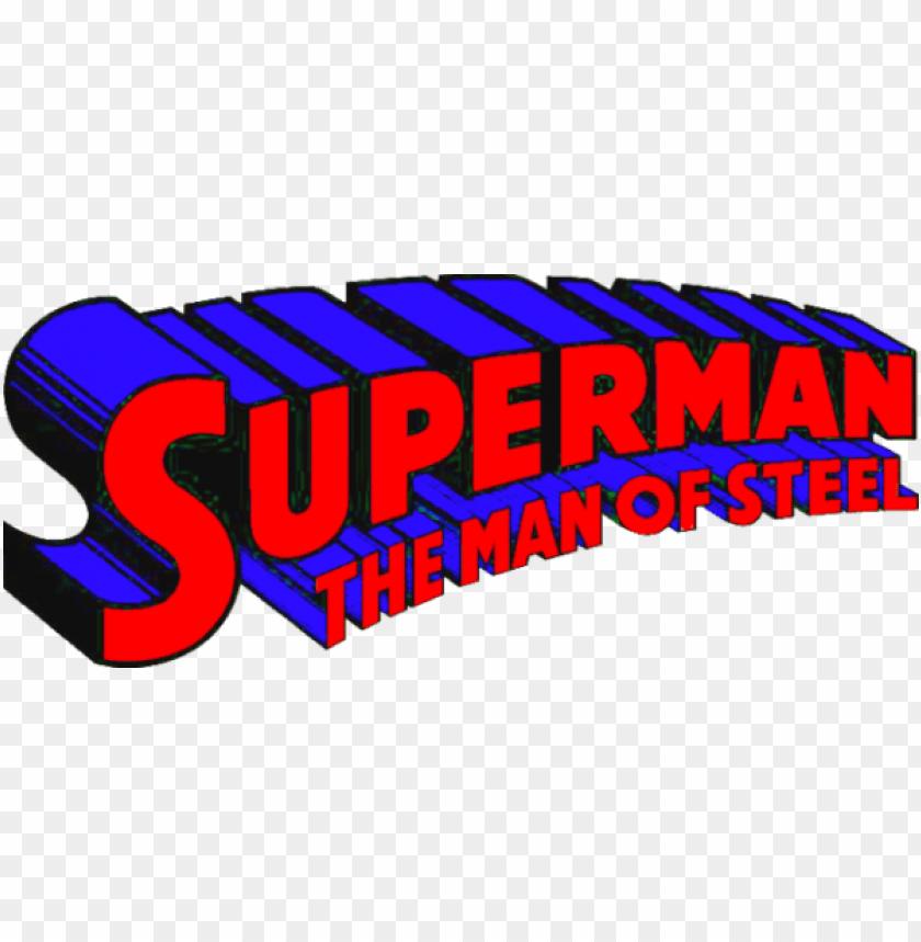 free PNG superman logo man of steel png download - superman the man of steel logo PNG image with transparent background PNG images transparent