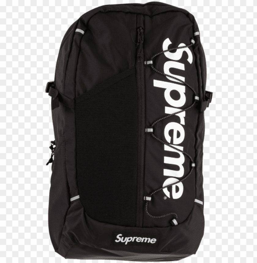 free PNG supreme 17ss 42th bagpack bag shoulder bag school ba PNG image with transparent background PNG images transparent