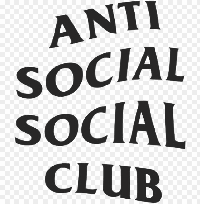 Supreme Anti Social Social Club Logo Hd Png Image With Transparent Background Toppng