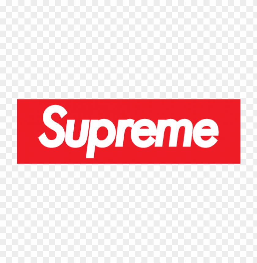 free PNG supreme logo vector PNG images transparent