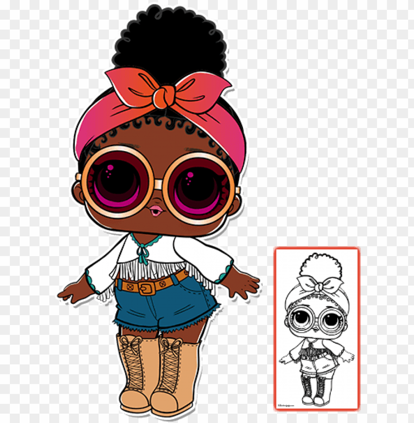 free PNG surprise style twin quiz did you get a fake l o l surprise - lol surprise serie 3 foxy PNG image with transparent background PNG images transparent
