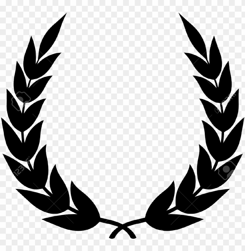 free PNG svg free library laurel clip art - laurel wreath vector PNG image with transparent background PNG images transparent